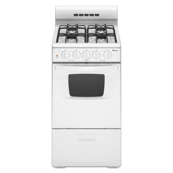 20-inch Gas Range with Compact Oven Capacity