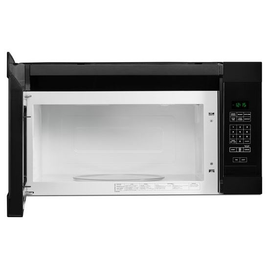 1.6 Cu. Ft. AOver-the-Range Microwave with Add 0:30 Seconds