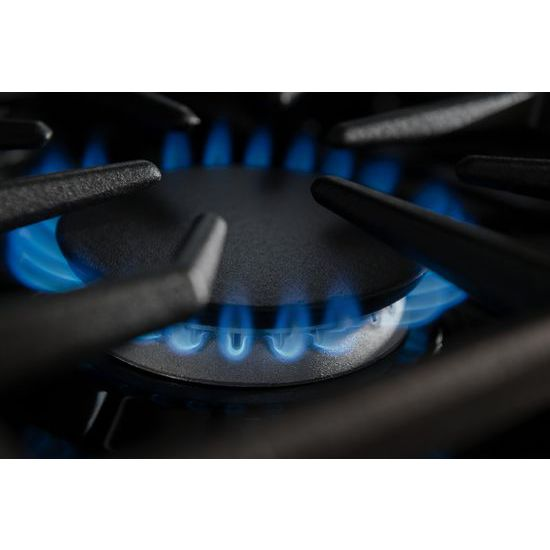 Model: KGCU484VSS | 48-Inch 4 Burner Gas Rangetop, Commercial-Style