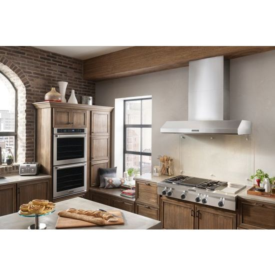 Model: KGCU484VSS | KitchenAid 48-Inch 4 Burner Gas Rangetop, Commercial-Style