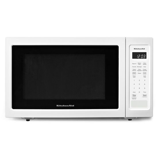 "KitchenAid 21 3/4"" Countertop Microwave Oven - 1200 Watt"