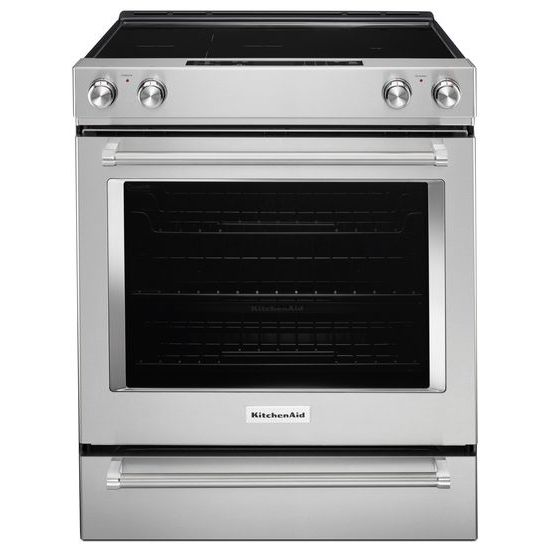 30-Inch 5-Element Electric Slide-In Convection Range