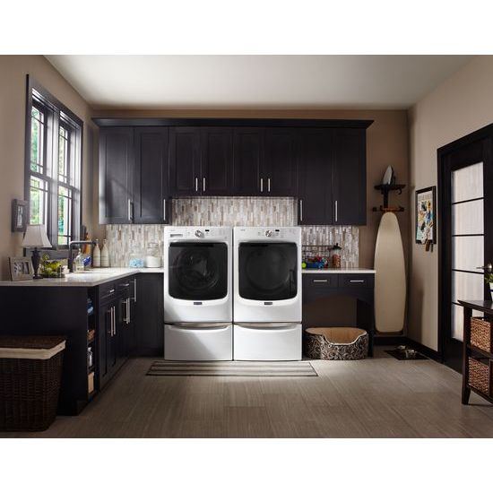 Model: MED3500FW | Large Capacity Dryer with Wrinkle Prevent Option and PowerDry System – 7.4 cu. ft.