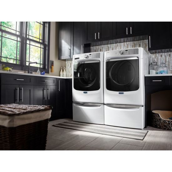 Model: MED8200FW | Maytag Large Capacity Dryer with Refresh Cycle with Steam and PowerDry System – 7.4 cu. ft.