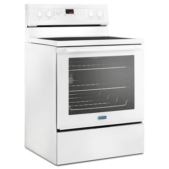 Maytag Mer8800fw 30 Inch Wide Electric Range With True