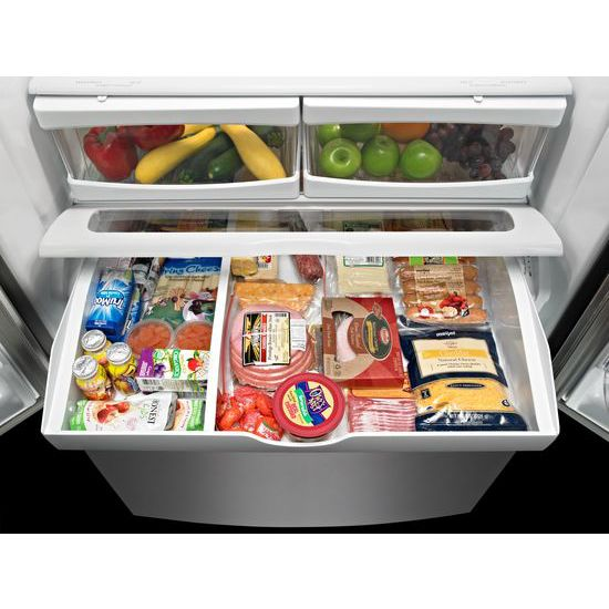Maytag Mff2258fez 33 Inch Wide French Door Refrigerator 22 Cu