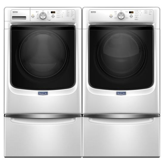 Model: MGD3500FW | Maytag Large Capacity Gas Dryer with Wrinkle Prevent Option and PowerDry System – 7.4 cu. ft.