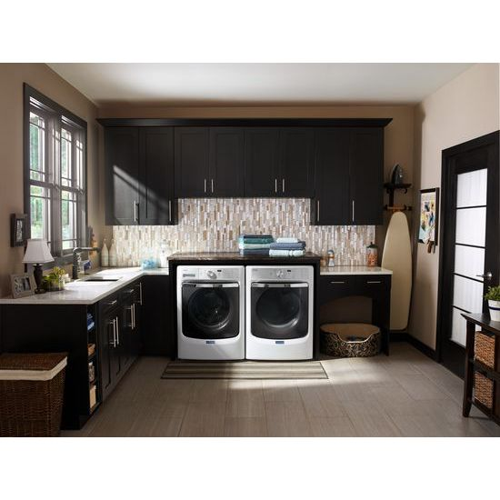 Model: MGD8200FW | Maytag Large Capacity Gas Dryer with Refresh Cycle with Steam and PowerDry System – 7.4 cu. ft.