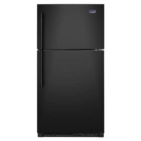 Maytag 33-Inch Wide Top Freezer Refrigerator with EvenAir™ Cooling Tower- 21 Cu. Ft.