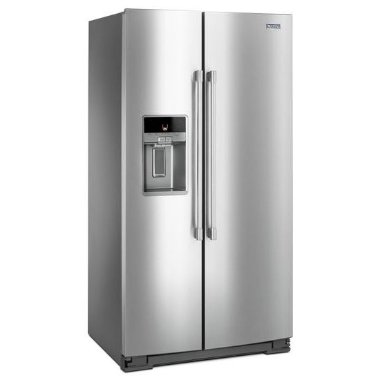Model: MSS26C6MFZ | 36- Inch Wide Side-by-Side Refrigerator with External Ice and Water- 26 Cu. Ft.