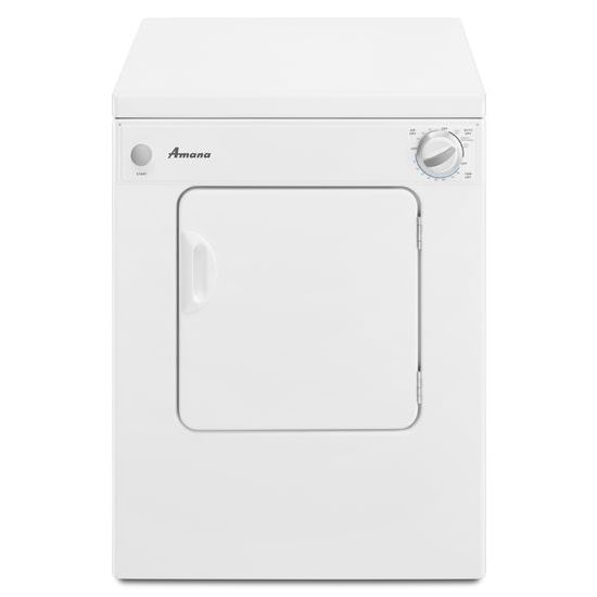 Amana 3.4 Cu. Ft. Compact Dryer with Sensor Dry