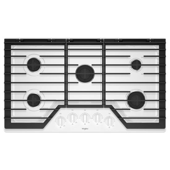 36-inch Gas Cooktop with EZ-2-Lift™ Hinged Cast-Iron Grates
