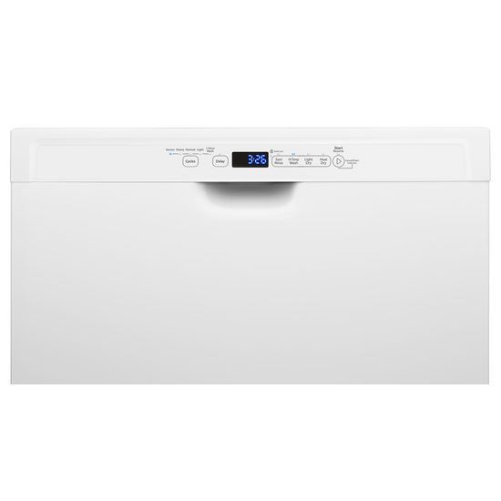 Model: WDF560SAFW | Whirlpool Stainless Steel Dishwasher with 1-Hour Wash Cycle