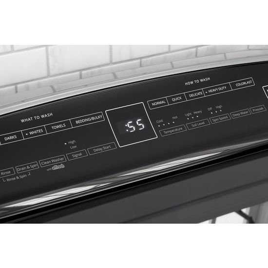 7.4 cu.ft Top Load HE Electric Dryer with AccuDry™ , Intuitive Touch Controls