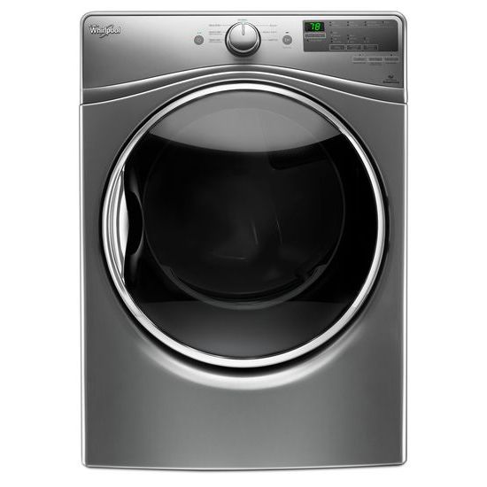 Whirlpool 7.4 cu.ft. Front Load Electric Dryer with Advanced Moisture Sensing, 8 cycles