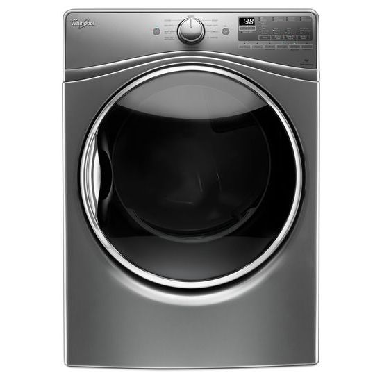 Whirlpool 7.4 cu.ft Front Load Electric Dryer with Advanced Moisture Sensing, EcoBoost™