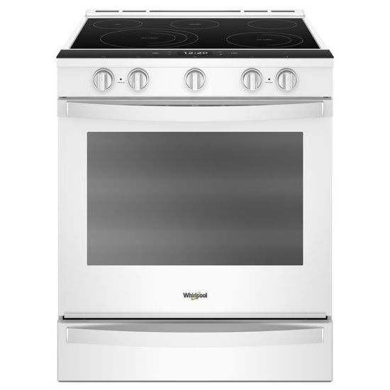 6.4 Cu. Ft. Smart Slide-in Electric Range with Frozen Bake™ Technology