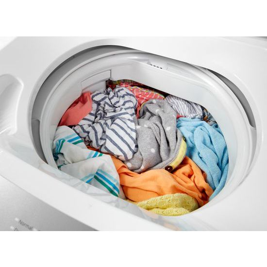 1.6 cu.ft Electric Stacked Laundry Center 6 Wash cycles and Wrinkle Shield™
