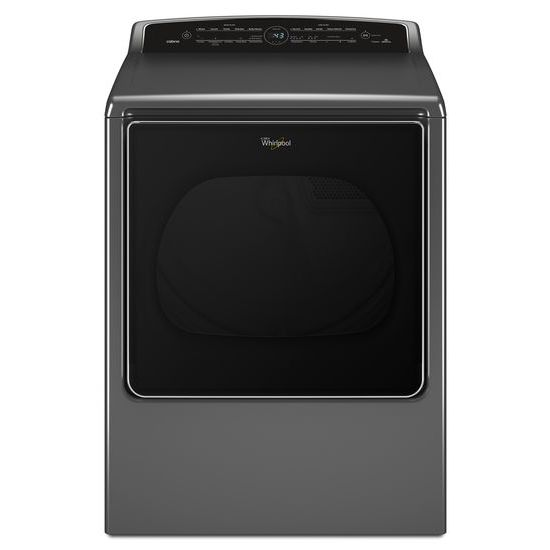 Whirlpool 8.8 cu.ft Smart Top Load Gas Dryer with Remote Control