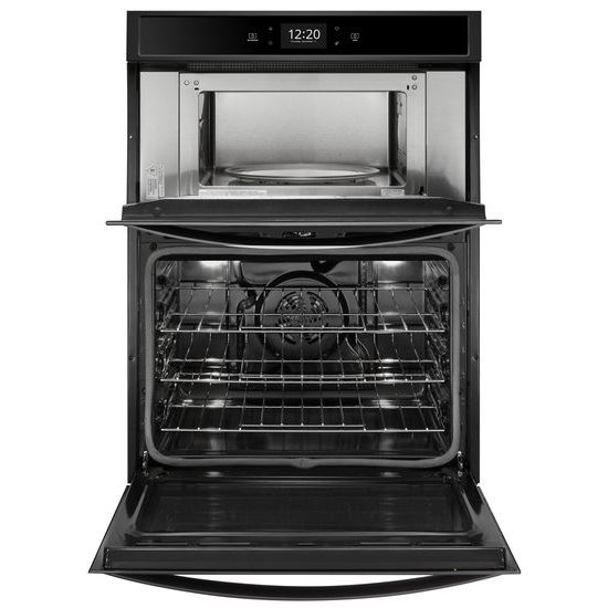 Model: WOC75EC0HB | 6.4 cu. ft. Smart Combination Wall Oven with Touchscreen