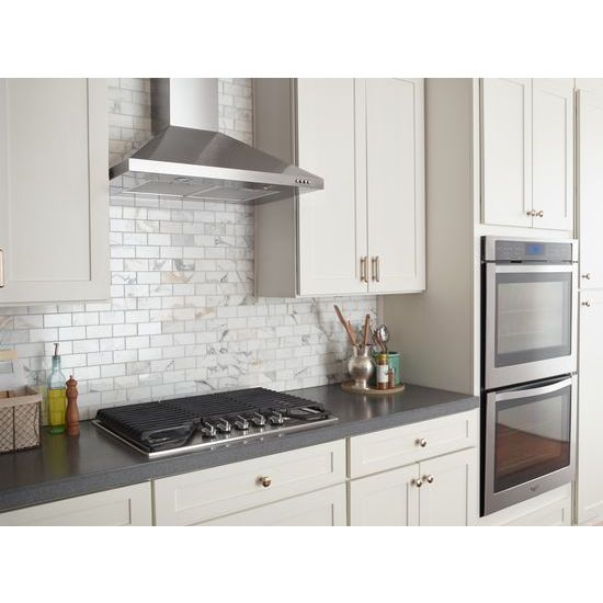 Model: WOD93EC0AS | Whirlpool Gold®  10 cu. ft. Double Wall Oven with True Convection Cooking