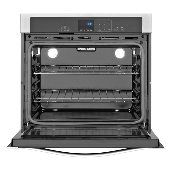 Model: WOS51EC7AS   4.3 cu. ft. Single Wall Oven with SteamClean Option