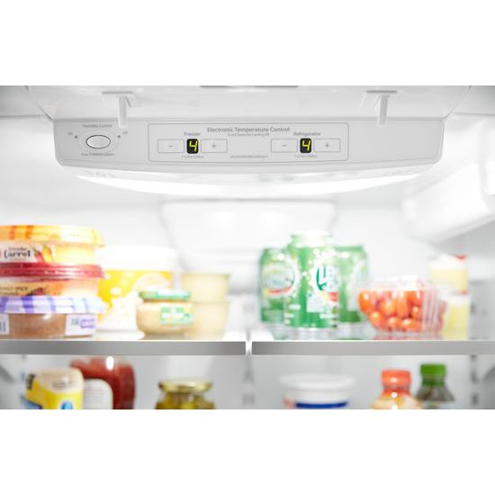 Whirlpool Wrf532smhb 33 Inch Wide French Door Refrigerator 22