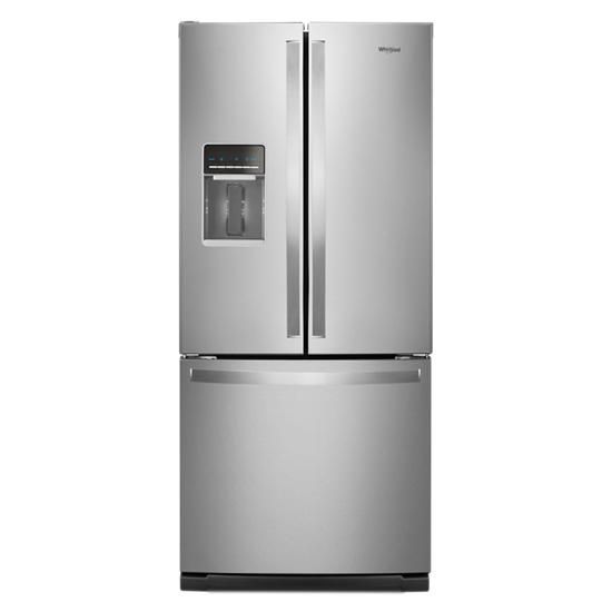 30 Inch Wide French Door Refrigerator   20 Cu. Ft.