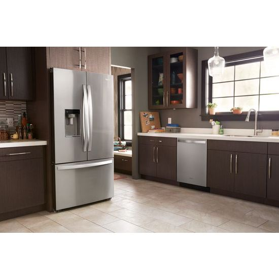 Model: WRF954CIHM | 36-inch Wide Counter Depth French Door Refrigerator - 24 cu. ft.