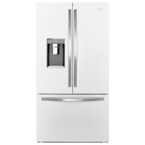 Beau 36 Inch Wide French Door Refrigerator With Infinity Slide Shelf   32 Cu. Ft