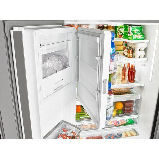 Model: WRF992FIFM   36 Inch Wide French Door Refrigerator With Infinity  Slide Shelf