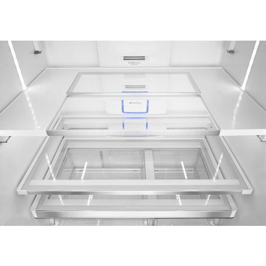 Model: WRF995FIFZ | 36-inch Wide French Door Refrigerator with Infinity Slide Shelves - 32 cu. ft.
