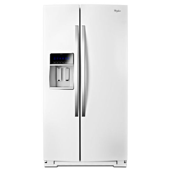 36-inch Wide Side-by-Side Counter Depth Refrigerator with StoreRight™ - 20 cu. f