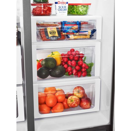 36-inch Wide Side-by-Side Counter Depth Refrigerator with StoreRight™  - 23 cu. f