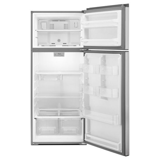 Model: 3WRT518SZFMWEB | 28-inch Wide Refrigerator Compatible With The EZ Connect Icemaker Kit – 18 Cu. Ft.