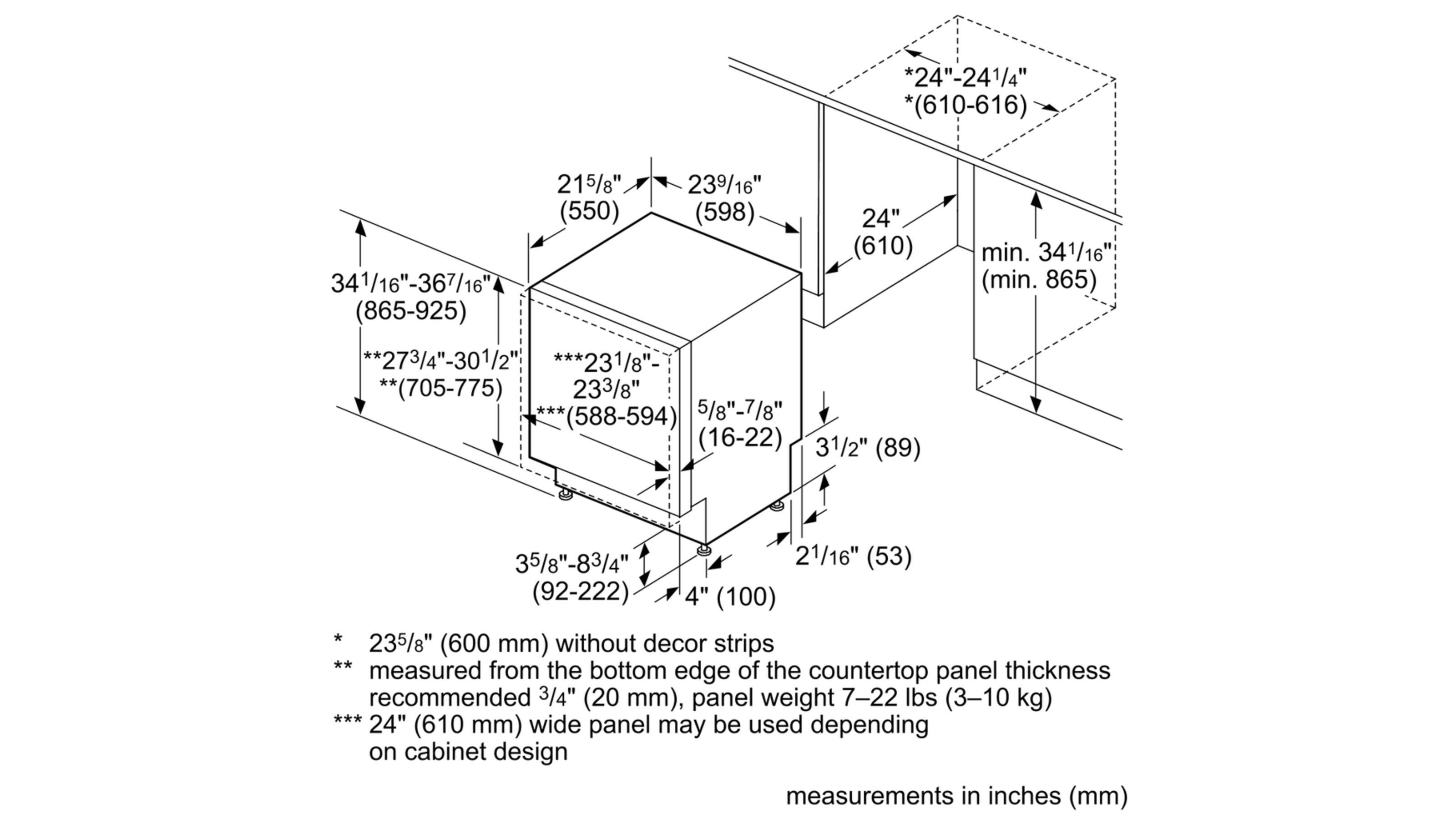 Model: SHV89PW73N | Benchmark®24