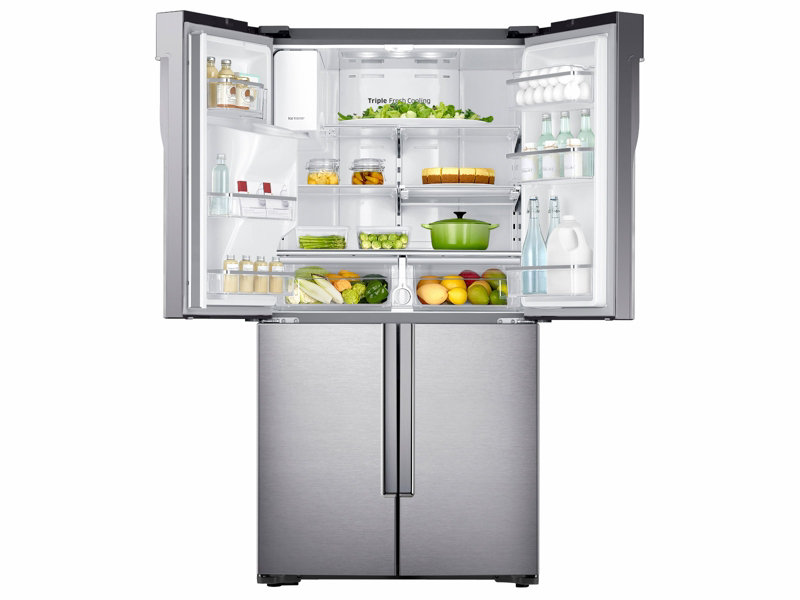 Counter Depth 4 Door Flex™ Refrigerator With FlexZone™