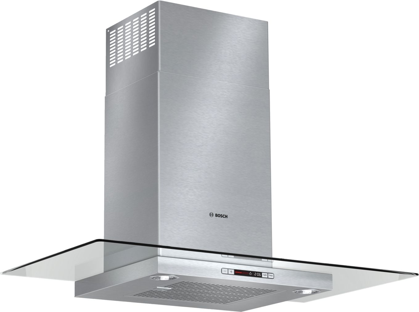 "Bosch Benchmark®36"" Glass Canopy Chimney Hood, 600 CFM, HCG56651UC, Stainless Steel"
