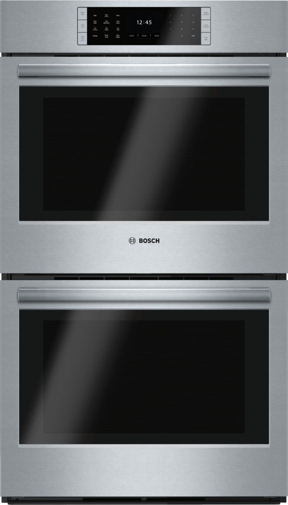 "Model: HBLP651UC | Bosch 30"" Double Wall Oven, HBLP651UC, Stainless Steel"