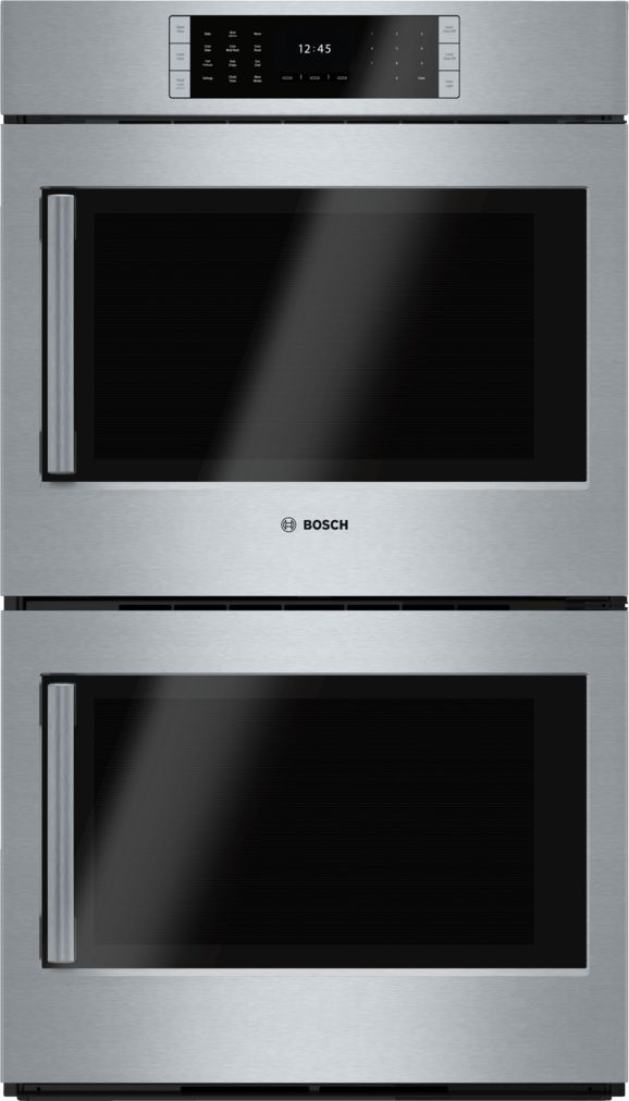 "Bosch 30"" Double Wall Oven, Right SideOpening Door, HBLP651RUC, Stainless Steel"