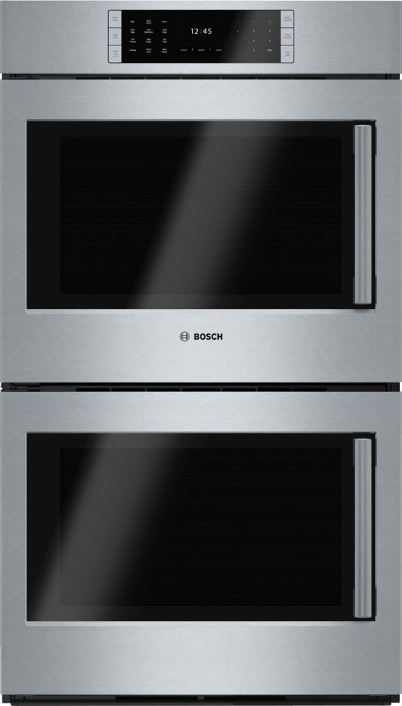 "Model: HBLP651LUC | Bosch 30"" Double Wall Oven, Left SideOpening Door, HBLP651LUC, Stainless Steel"