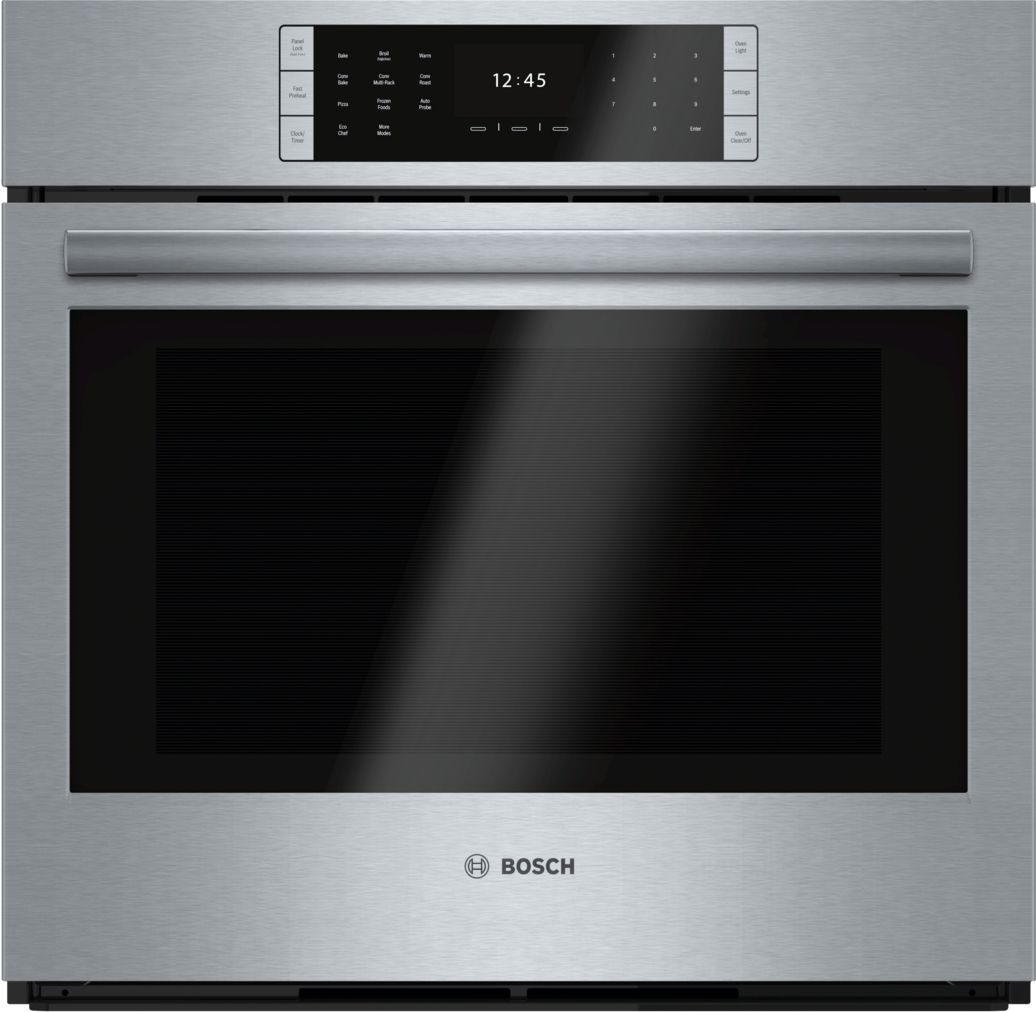 "Bosch Benchmark®30"" Single Wall Oven, HBLP451UC, Stainless Steel"