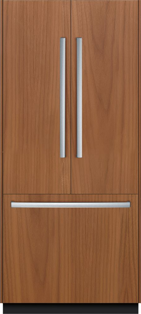 "Bosch Benchmark®36"" Built-in French Door Refrigerator, B36IT800NP, Custom Panel (panel not included)"