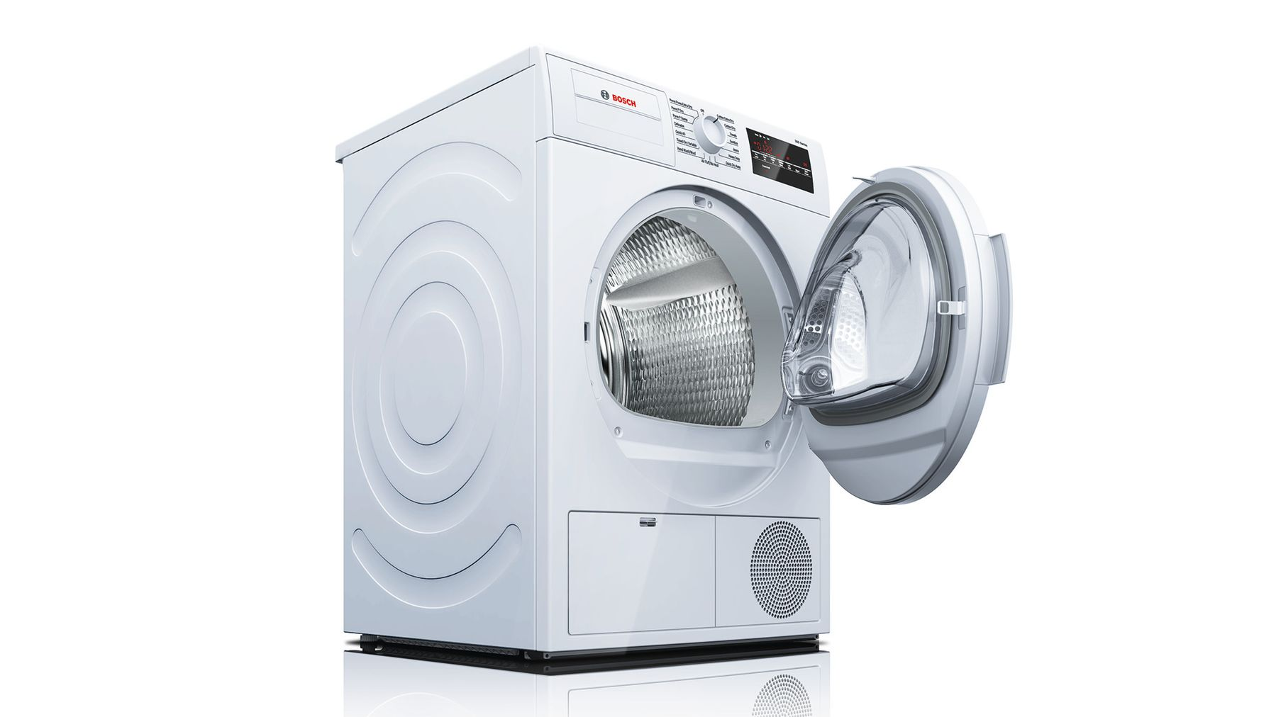 "Model: WTG86400UC | Bosch 300 Series24"" Compact Condensation Dryer, WTG86400UC, White"