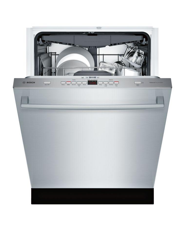 "Model: SHXM63W55N | Bosch 300 Series24"" Bar Handle DishwasherSHXM63W55NStainless steel"