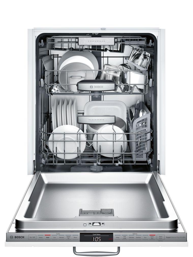 "Model: SHVM98W73N | Bosch 800 Series24"" Panel Ready DishwasherSHVM98W73NCustom Panel Ready (Panel Not Included)"