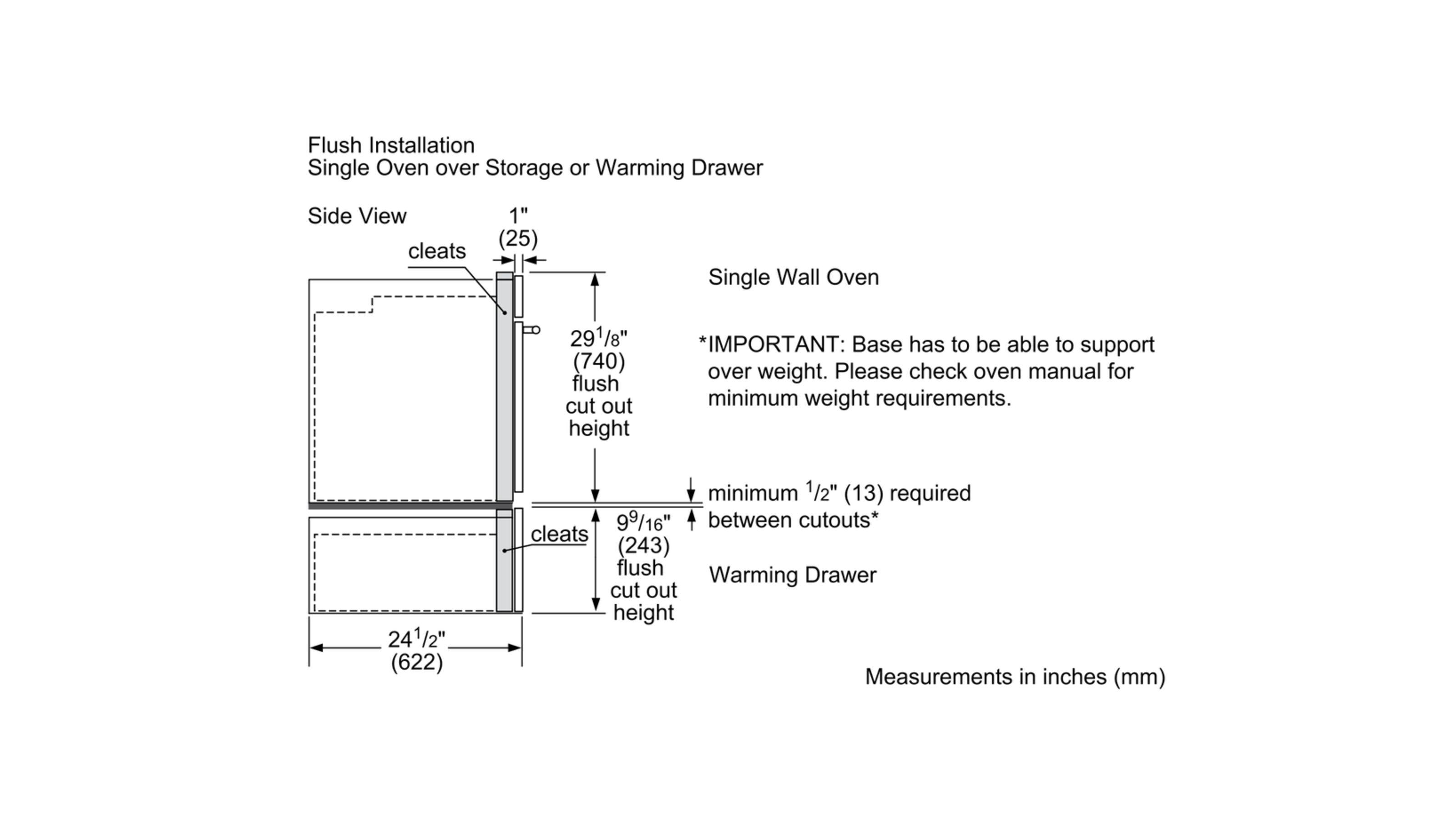 "Model: HWD5751UC | Bosch 27"" Warming Drawer, HWD5751UC, Stainless Steel"