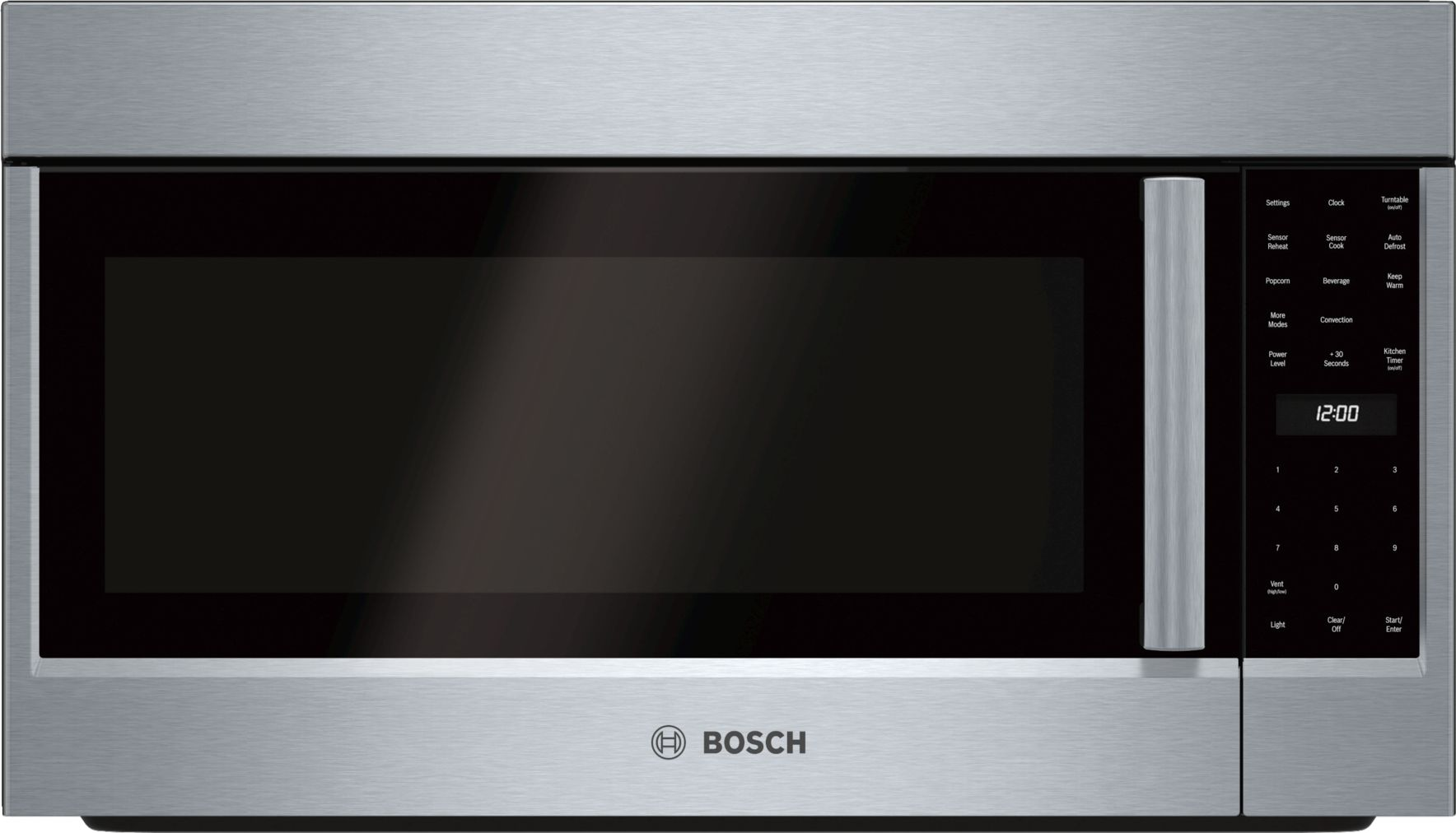 "Bosch 800 Series30"" Over-the-Range Convection Microwave, HMV8053U, Stainless Steel"