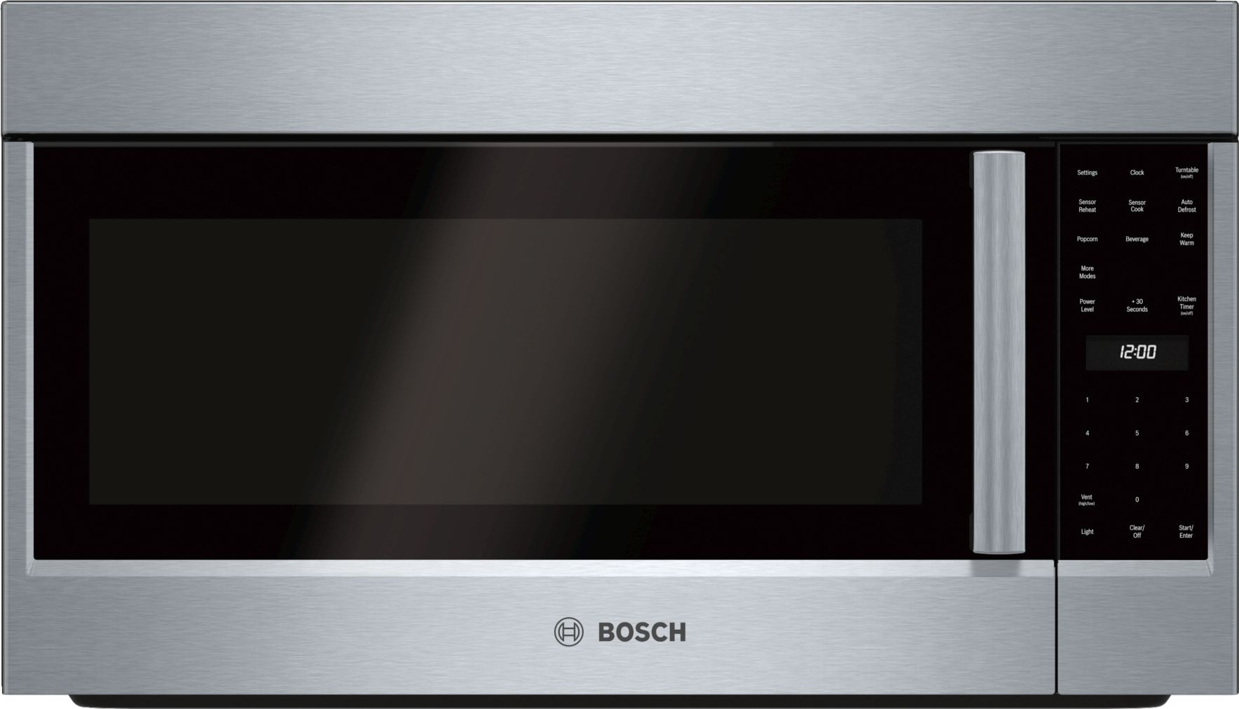 "Bosch 500 Series30"" Over-the-Range Microwave, HMV5053U, Stainless Steel"