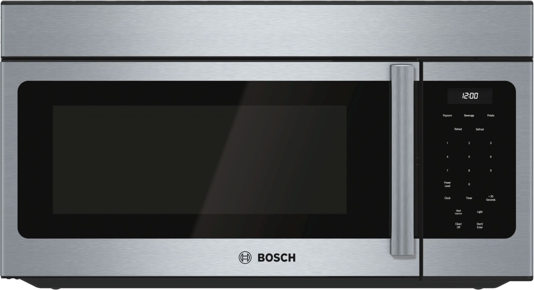 "Bosch 300 Series30"" Over-the-Range Microwave, HMV3053U, Stainless Steel"